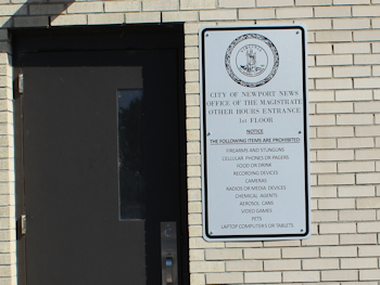 Newport News Magistrates Office